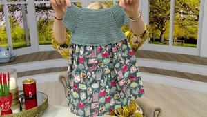 Tığ ile harika çocuk elbisesi nasıl yapılır