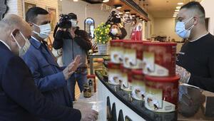 Ankarada alışveriş merkezlerinde koronavirüs denetimi yapıldı