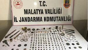 Malatyada tarihi eser operasyonu: 1 gözaltı