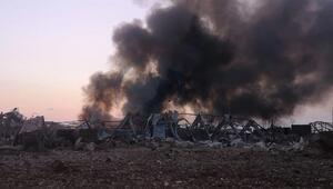Tuncelide patlayıcı imhasında yaşanan patlamada 4 asker yaralandı