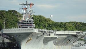 ABD uçak gemisine Orta Doğuya geri dönmesi emrini verdi