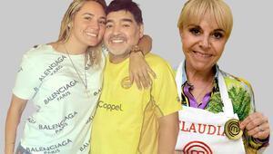 Son dakika haberleri | Maradonanın eski sevgilisi ve eski eşi cenazede bir birlerine girdi Serveti hakkında dikkat çeken açıklama..