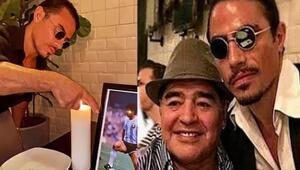 Nusret'ten Maradona için duygusal paylaşım