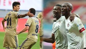 Fenerbahçe ile Beşiktaşın golcüleri