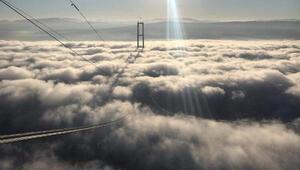 Çanakkale Boğazında yoğun sis etkili oldu