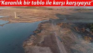 İzmirdeki barajlarda su seviyesi düştü