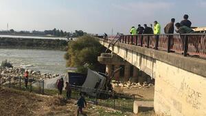 Adanada korkunç olay Köprüden uçtu