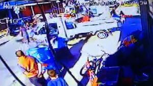 Bursada 4 kişinin yaralandığı silahlı çatışmanın görüntüleri ortaya çıktı