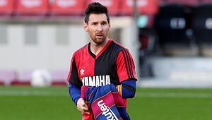 Barcelona 4-0 Osasuna / Messi, Maradonayı böyle andı