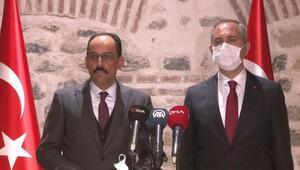 Adalet Bakanı Gül ve Cumhurbaşkanlığı Sözcüsü Kalın, azınlık cemaatlerinin temsilcileriyle buluştu