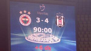 Maç sonu Fenerbahçeye gönderme