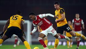 Arsenal sahasında Wolverhamptona 2-1 kaybetti