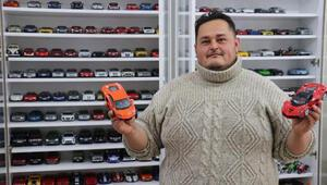Fabrika işçisinin model otomobil tutkusu