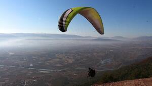 Erbaada yamaç paraşütü etkinliği