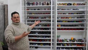 13 yıl önce başladı, 600e ulaştı... Fabrika işçisinin model otomobil tutkusu