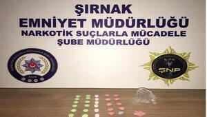 Şırnakta kaçakçılık operasyonları: 39 gözaltı
