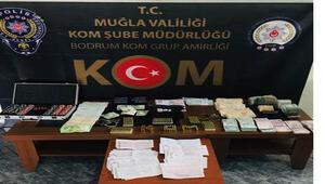 Muğlada kaçakçılık ve tefecilik operasyonu: 9 gözaltı