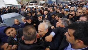Kılıçdaroğluna şehit cenazesinde saldırı davası başladı