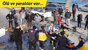 Son dakika Bursada feci kaza: Ölü ve yaralılar var