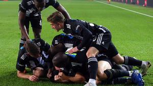 Beşiktaş kritik virajın ilk bölümünü mutlu geçti