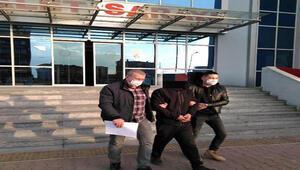 Çaldığı motorlu testereyle bekçilere yakalanan şüpheli tutuklandı