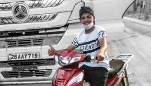 14 yaşındaki Salih Danabaş, motosiklet kazasında öldü