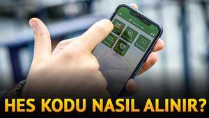 HES Kodu alma ve HES Kodu risk sorgulama ekranı HES Kodu SMS ve E-Devlet ile nasıl alınır