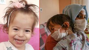 Doktorlar 3 ay ömür biçti Gülsüm Hira bebek yardım bekliyor