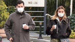 Özge Ulusoy ve sevgilisi Faruk Çolakoğlu, Etilerde