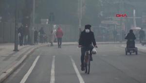 Düzcede hava kirliliği, en kötü seviyeye ulaştı