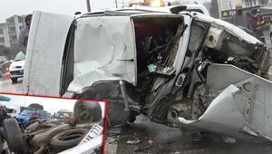Son dakika haberler: Yalovada zincirleme kaza Ortalık savaş alanına döndü