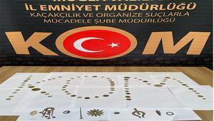 Köyceğiz'de tarihi eser operasyonu