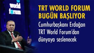 """""""TRT World Forum 2020"""" Bugün Başlıyor"""