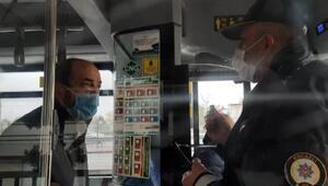 Otobüste hareketli dakikalar Şoför durakta bekletti, polis çağırdı