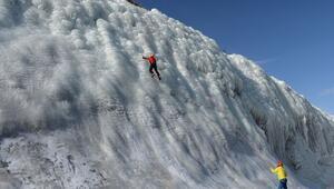 Palandökendeki yapay buz parkı adrenalin tutkunlarını bekliyor