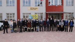 Sivas Belediyesinden köy okuluna destek