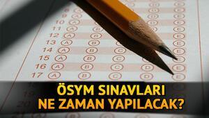 SON DAKİKA: ÖSYM sınavları ertelendi mi, sınavlar ne zaman yapılacak ÖSYM  DUS, MBSTS, STS, YDUS değişen sınav tarihleri…