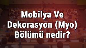 Mobilya Ve Dekorasyon (Myo) Bölümü nedir ve mezunu ne iş yapar Bölümü olan üniversiteler, dersleri ve iş imkanları
