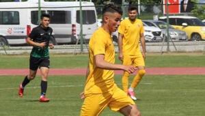 Alim, geleceği parlak bir futbolcu