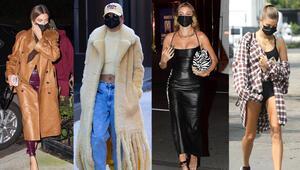 Moda sektörüne yön veriyor Hailey Bieber gibi giyinmenin yolları...