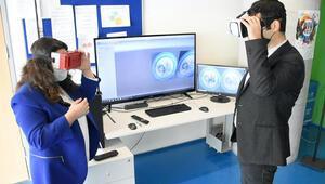 Uzaktan eğitim sanal gerçeklik boyutuna taşındı
