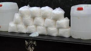 Son dakika haber... İstanbulda operasyon; 230 kilo metamfetamin ele geçirildi
