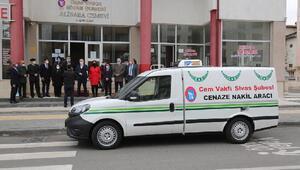 Belediyeden Cem Vakfına cenaze nakil aracı