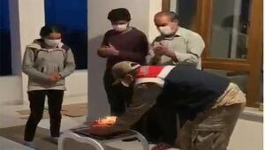 Adilcevazda jandarmadan 12 yaşındaki Zeynepe doğum günü kutlaması