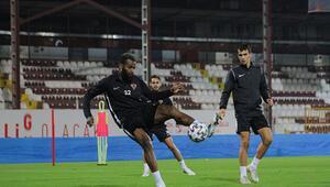 Atakaş Hataysporda Galatasaray maçı hazırlıkları