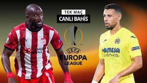 Sivassporun puan kaybına tahammülü yok Villarreal karşısında galibiyetlerine iddaada...