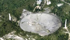 Dünyanın en büyük radyo teleskobu çöktü