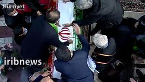 İranlı nükleer bilimci Fahrizadenin cenaze töreni görüntüleri