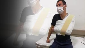 Son dakika haberler: Kayseride ambulanstan izinsiz maske ve eldiven alıp, itiraz eden şoförü darbettiler
