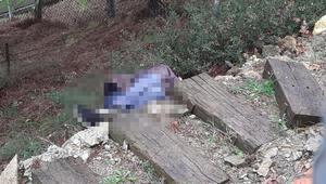 Korkunç olay Tuvaletini yapmak için mezarlığa girdiği iddia edildi...